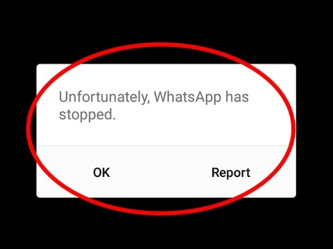 whatsapp stooped unfortunately