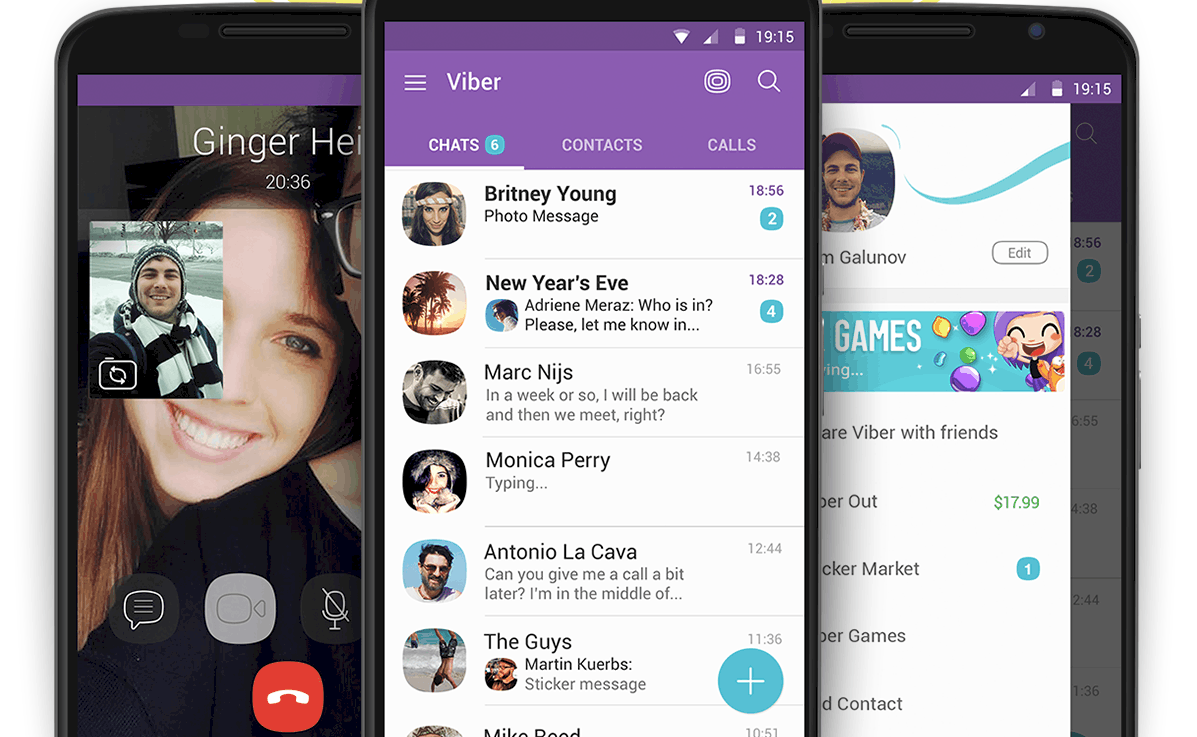 VIber App Features